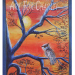 Curiosity - Watercolor on clay board - 15 inches x 22 inches - Printed card 4 inches x 6 inches