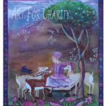 Kindness - Watercolor on paper - 30 inches x 22 inches - Printed card 4 inches x 6 inches