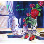 Something Sweet - Watercolor on paper- 22 inches x 15 inches - Printed card 6 inches x 4 inches
